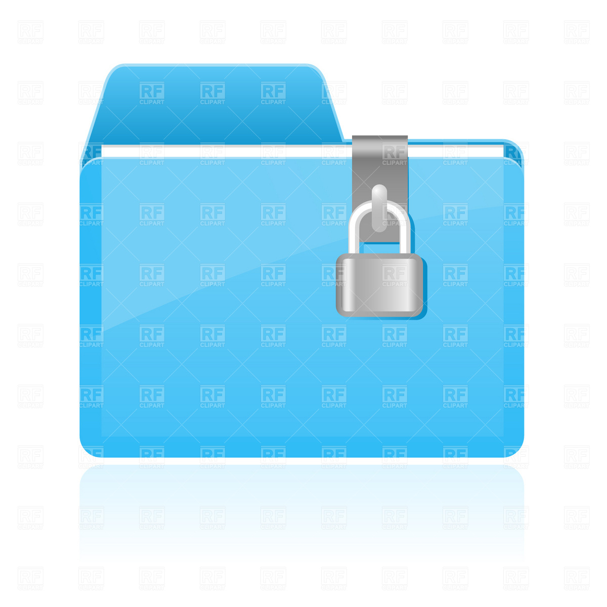 1200x1200 Folder With Lock Icon Vector Image Vector Artwork Of Icons And