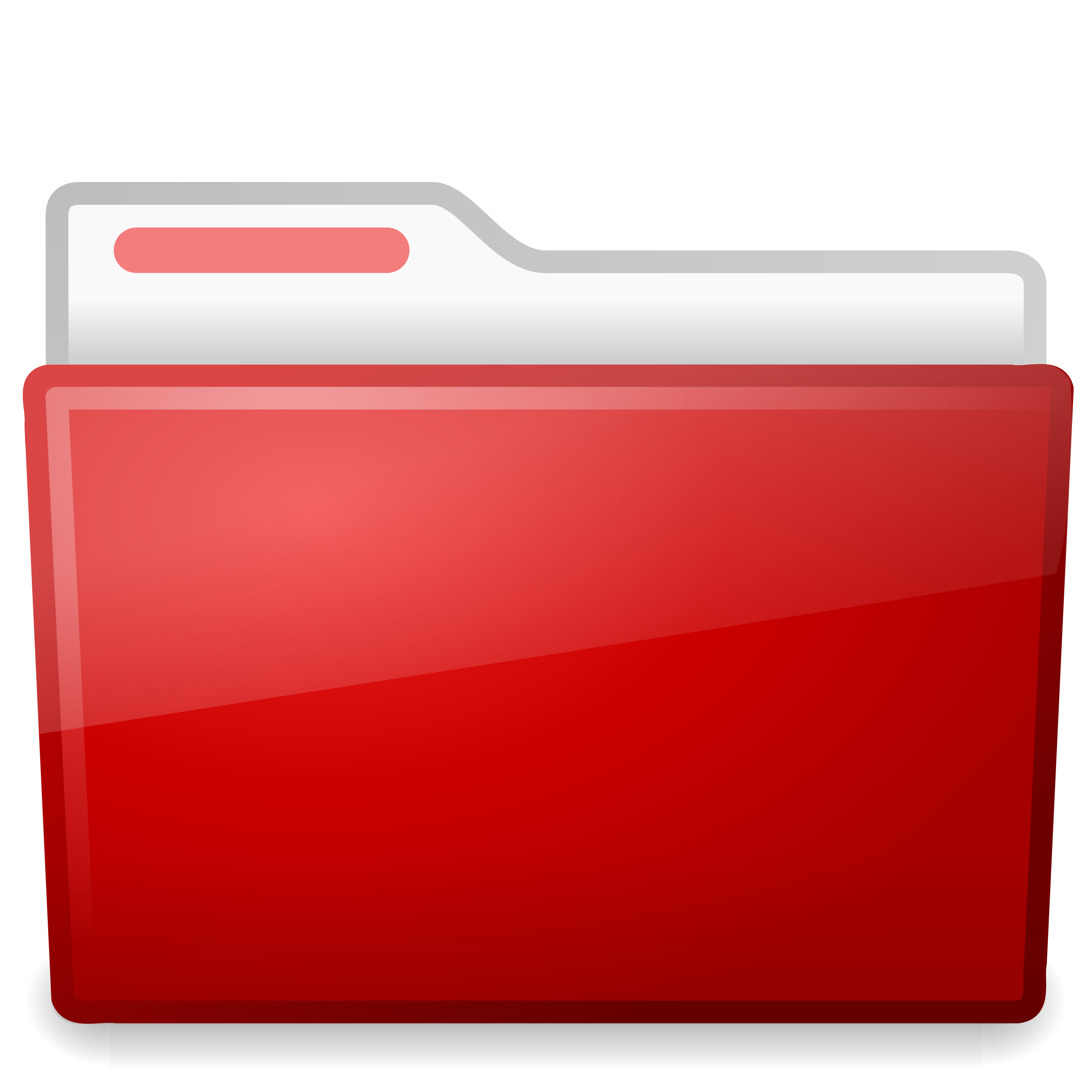 2400x2400 Red File Folder Vector Clipart Image