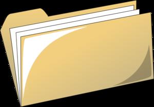 300x210 File Folder Clip Art