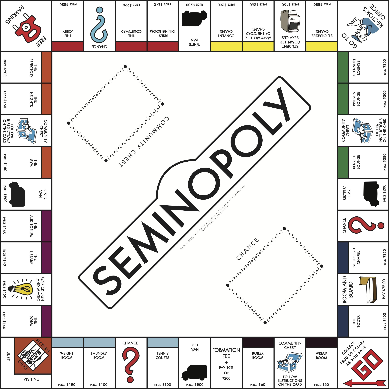3000x3000 Monopoly Game Board Design (Illustratorvector Artwork) Jeff