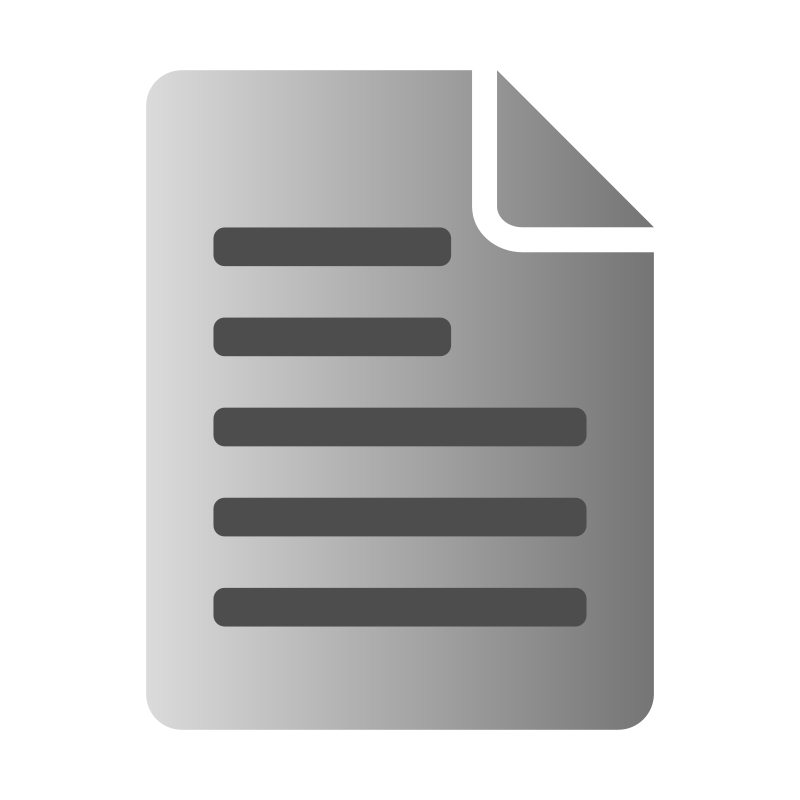 800x800 Text File Icon Free Vector 4vector