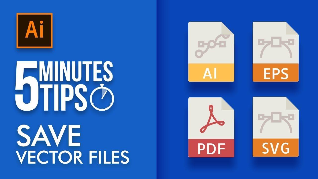1280x720 Vector File Formats In Illustrator