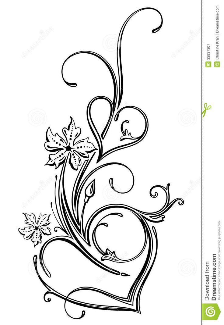 736x1066 Filigree Heart Clipart Free Clipart