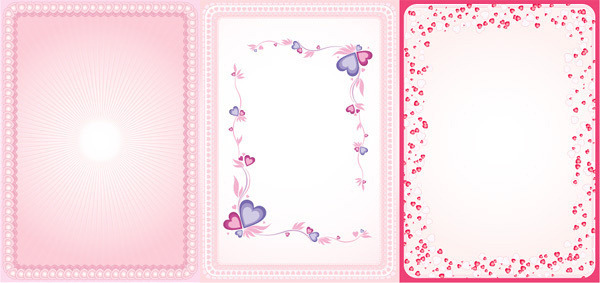 600x283 Filigree Border Hearts Free Vector Download (9,487 Free Vector