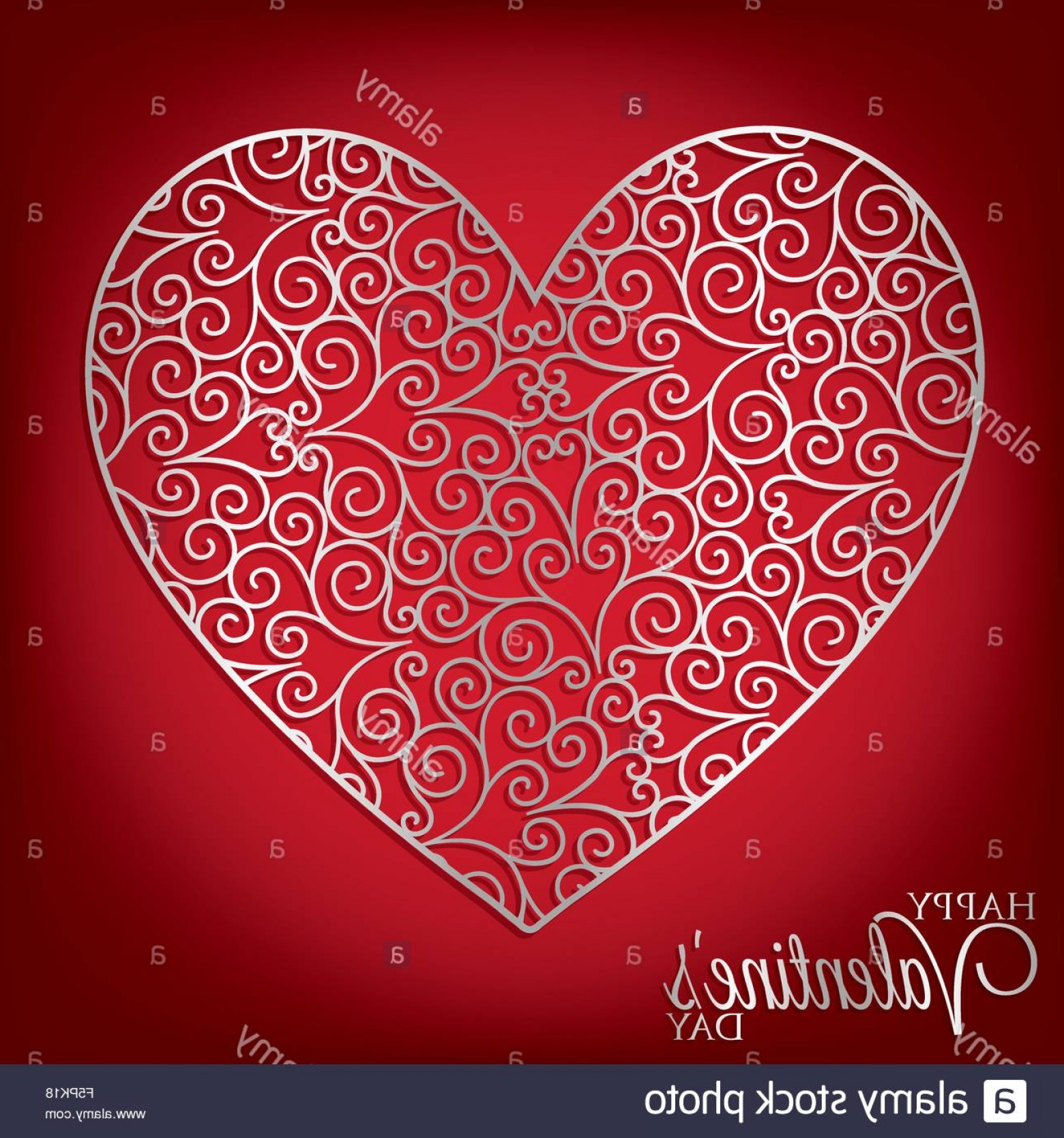 1560x1668 Stock Photo Filigree Heart Card In Vector Format Createmepink