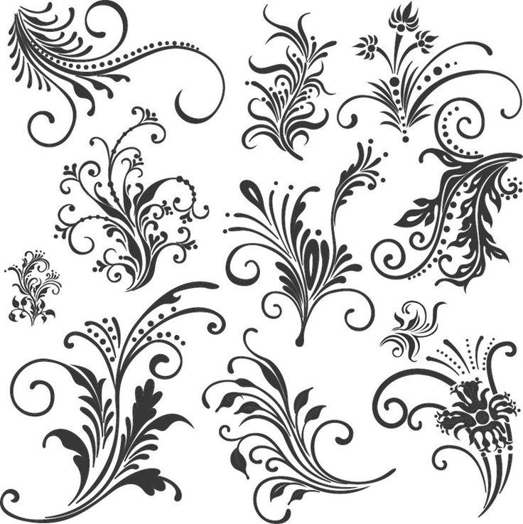 736x737 25 Best Filigree Tattoo Patterns Images Filigree