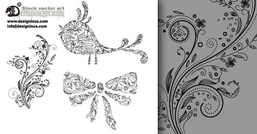 Filigree Pattern Vector Free at GetDrawings com | Free for