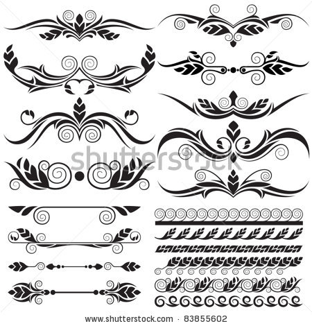 450x470 Free Filigree Designs Filigree Vector Free Download