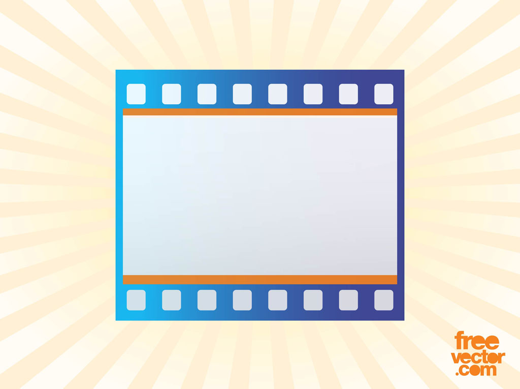 1024x765 Film Strip Icon Vector Vector Art Amp Graphics