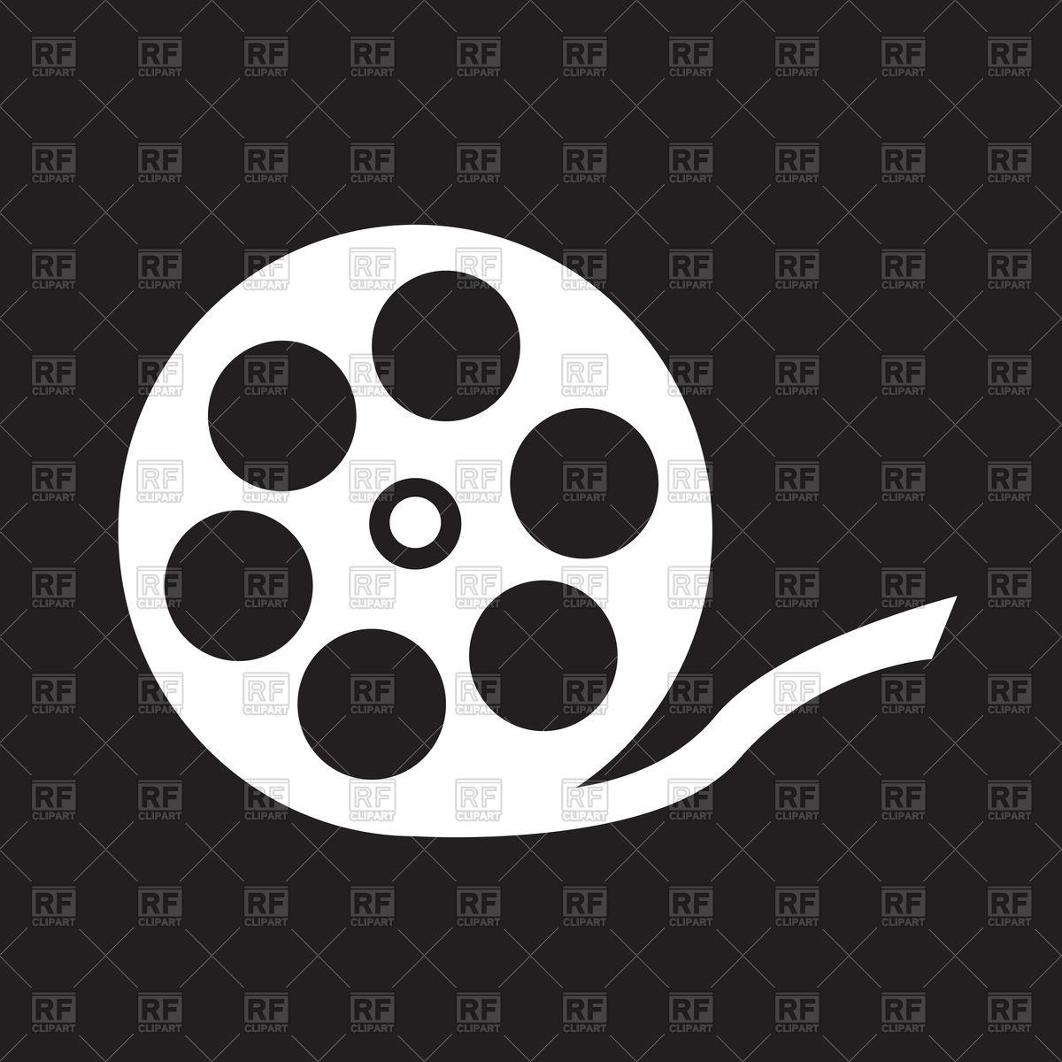 1200x1200 Film Reel Icon Vector Image Vector Artwork Of Signs, Symbols