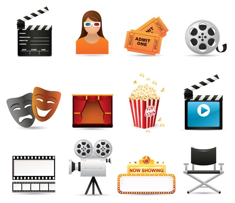 800x693 5 Film Icon Vector