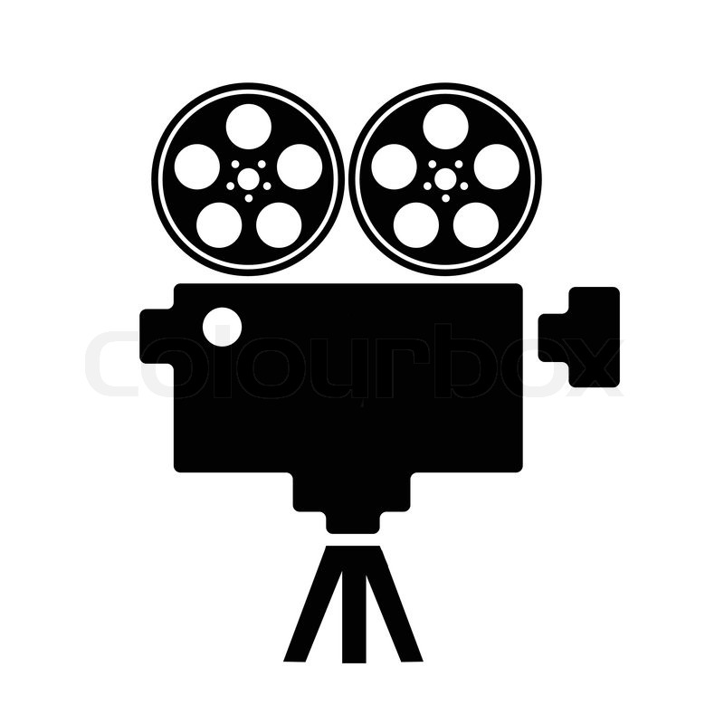Film Projector Vector