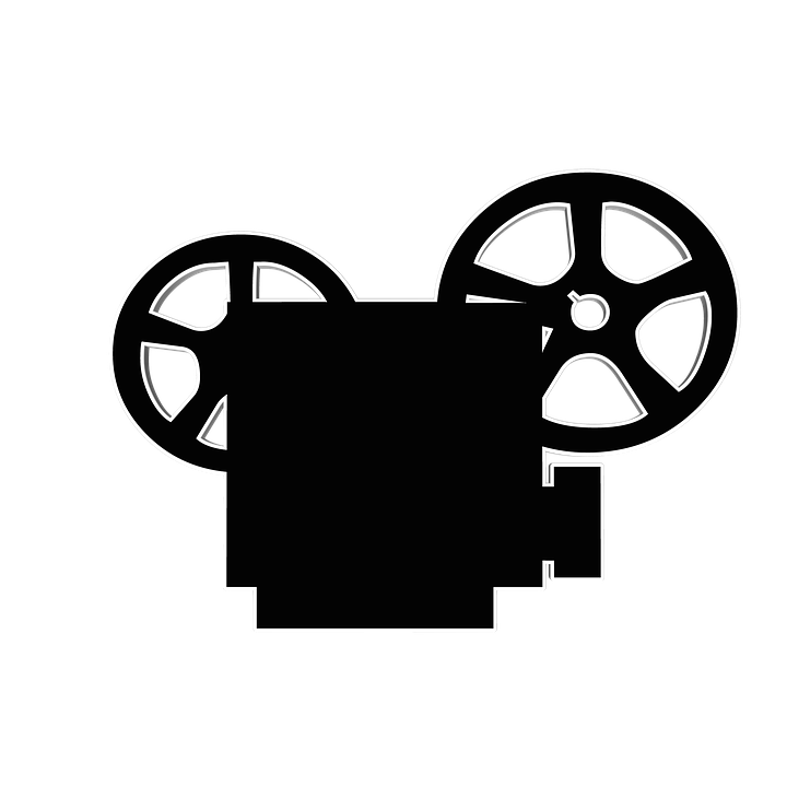 720x720 Old Clipart Movie Projector