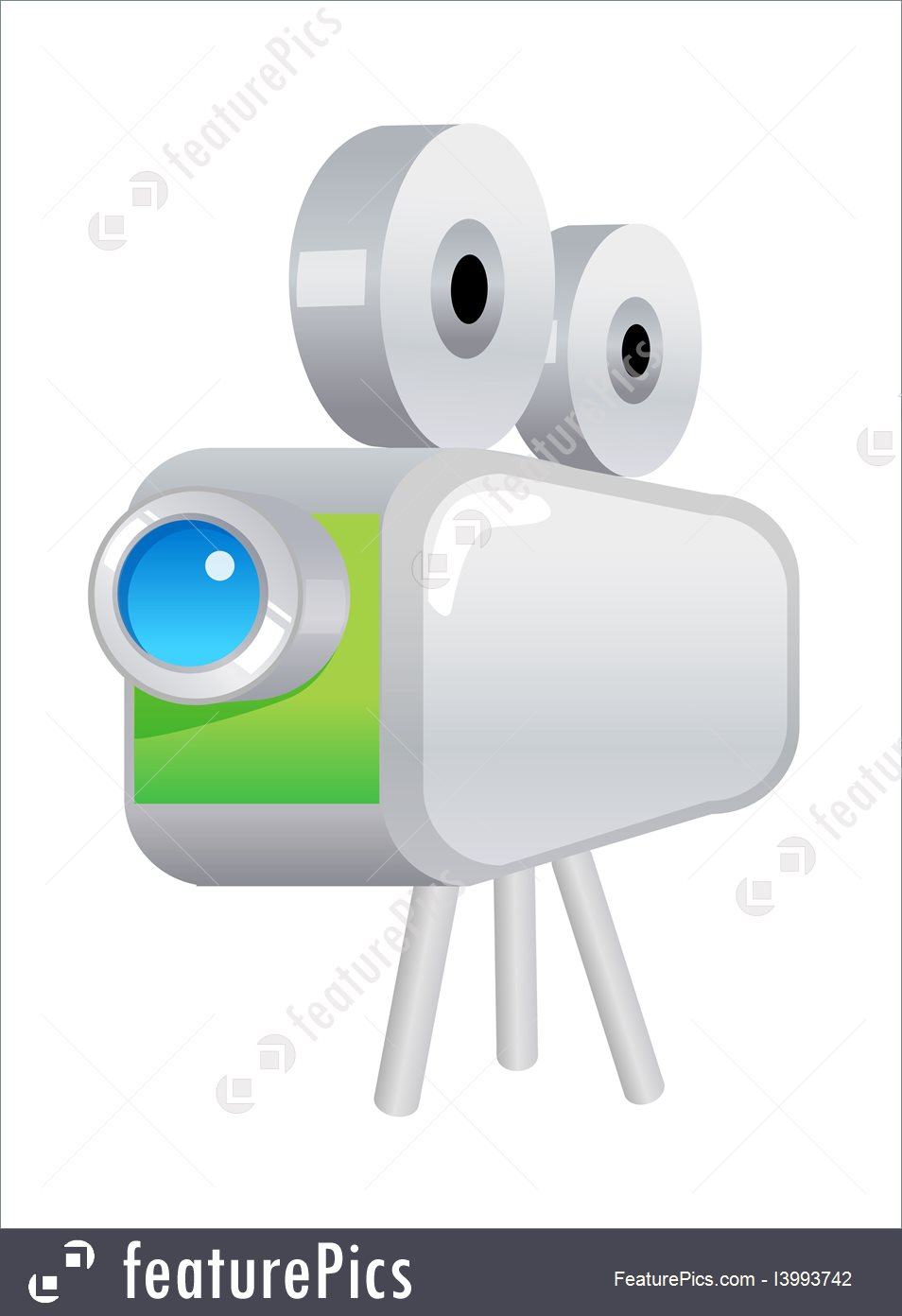 954x1392 Vector Icon Film Projector Stock Illustration I3993742