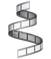 173x200 Film Reel Vector Stock Vectors