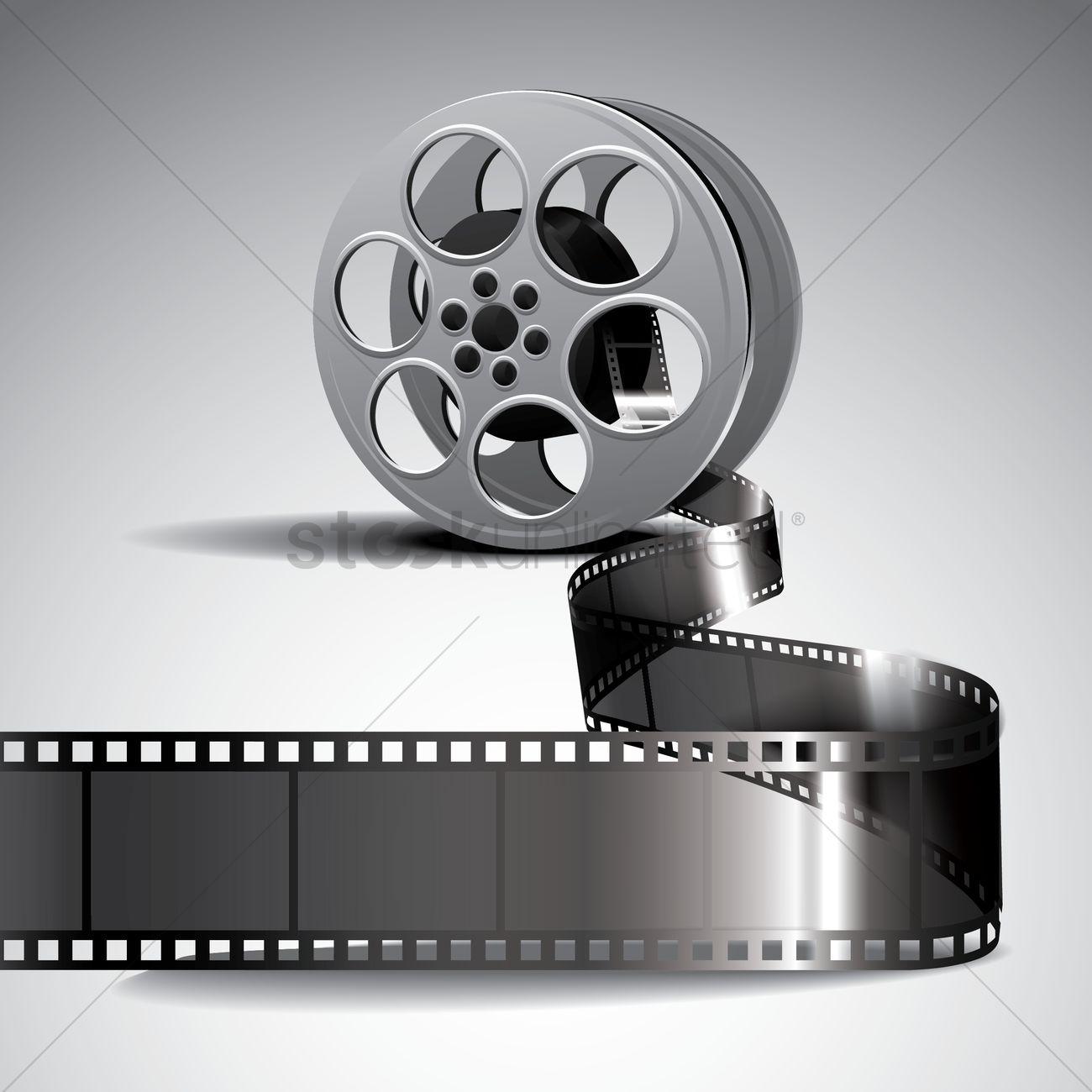 1300x1300 Film Reel Vector Image