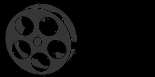 500x248 Film Reel Vector Illustrartion Public Domain Vectors