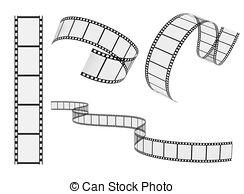 244x194 Film Reel Vector Set.
