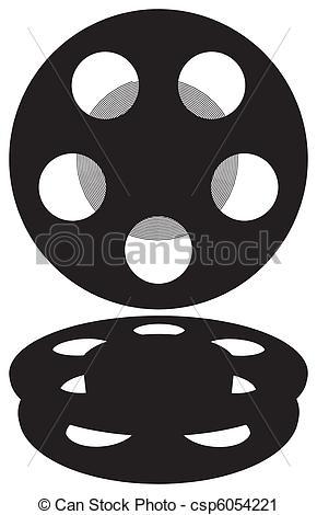 290x470 Film Reel Vector.