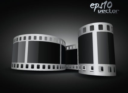 425x309 Film Reel Vectors Free Vector Download (484 Free Vector) For