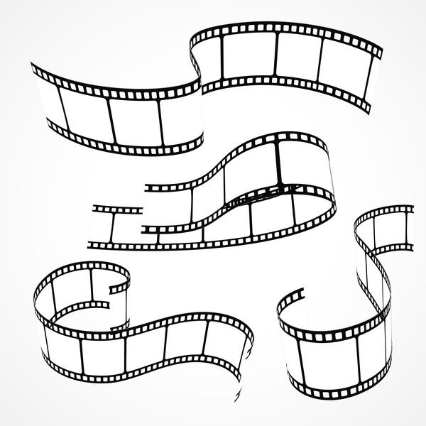 600x600 Hand Drawn Film Reel Vector 01 Free Download