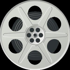 300x300 Movie Reel Clip Art