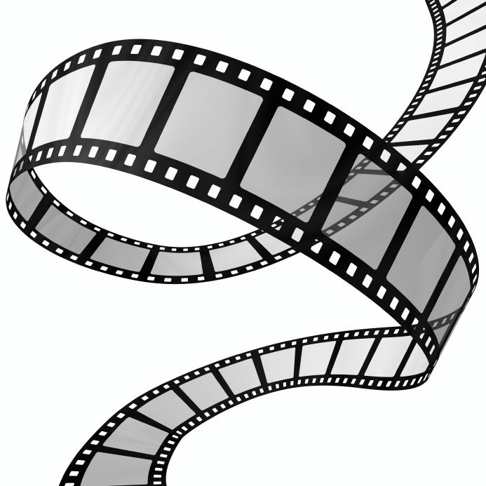 693x693 Movie Reel Vector Clipart