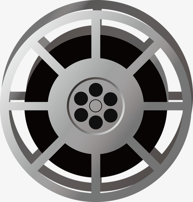 650x680 Film Reel Vector, Film Vector, Film, Roller Png And Vector For