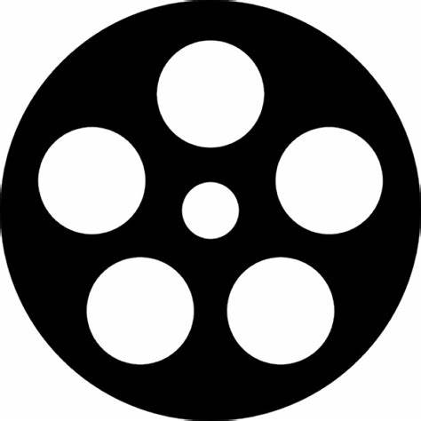 474x474 Film Reel Vector Icon. Cinema Film Reel Icons Free Download