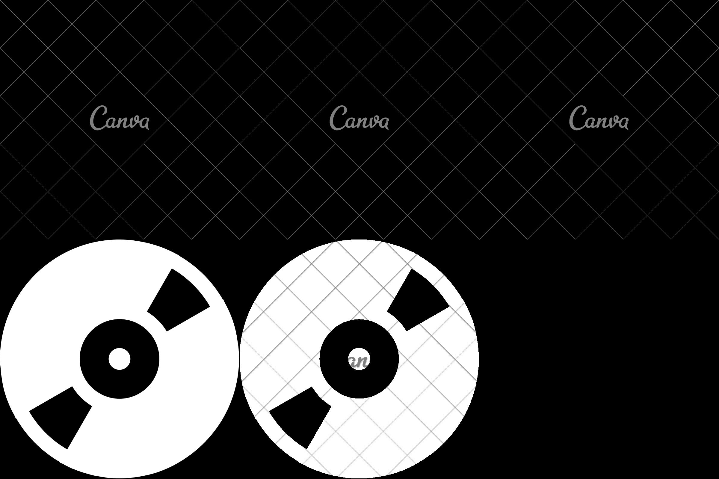 2400x1600 Film Reel Vector Illustration