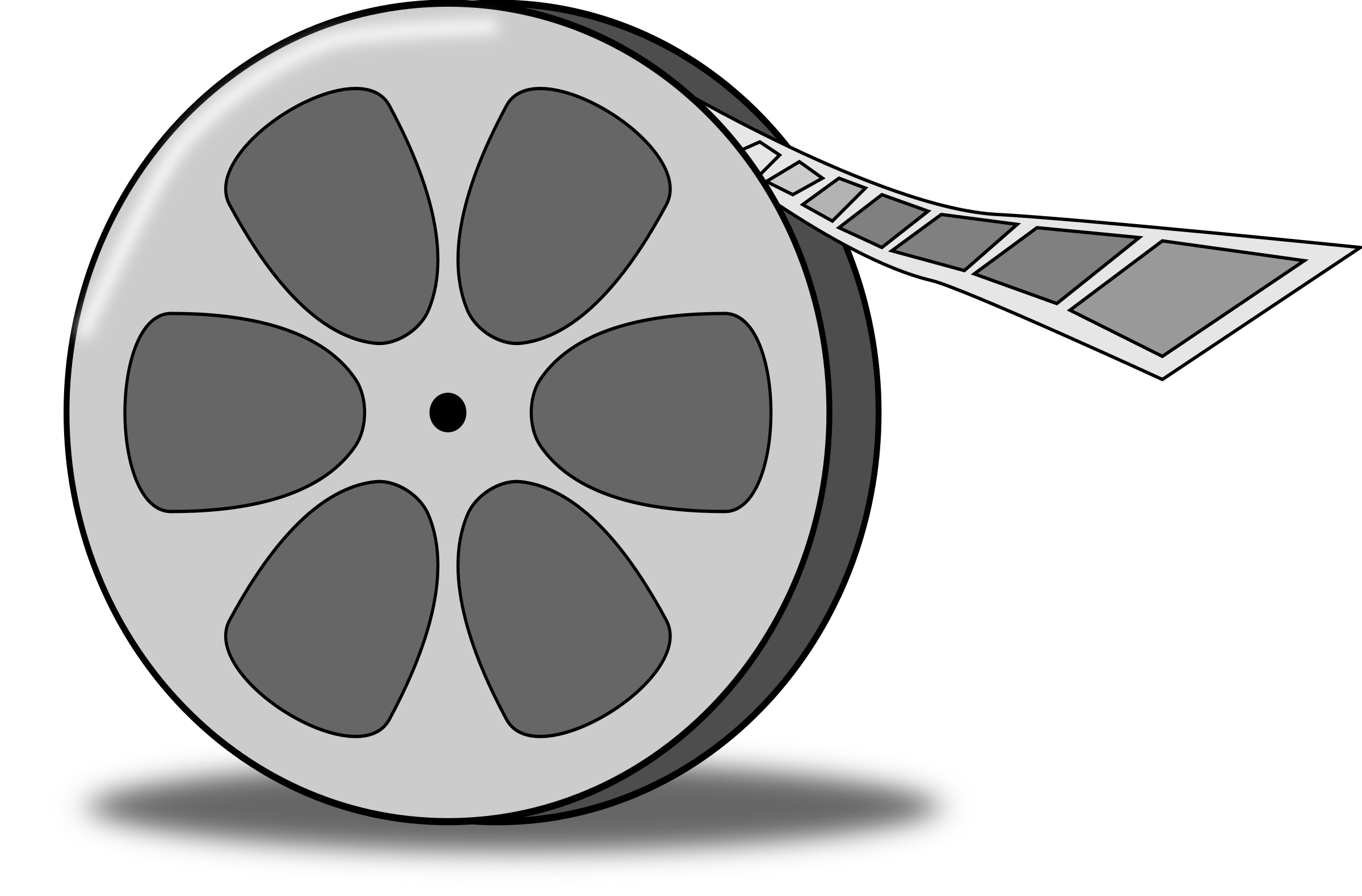 Film Reel Vector Free Download
