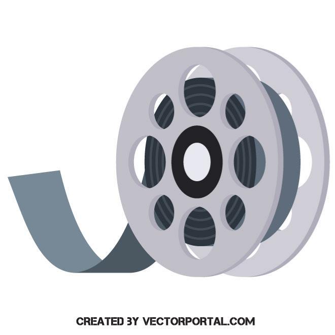 660x660 Film Roll Vector Icon