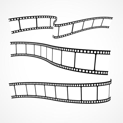 490x490 Collection Of Vector Film Strips
