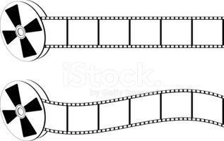 317x200 Film Reel ~ Vector Stock Vectors