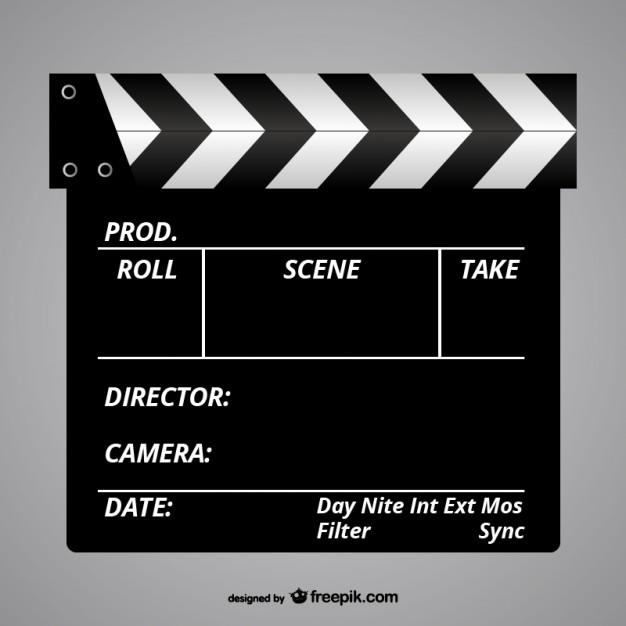 626x626 Film Slate Vector Free Download