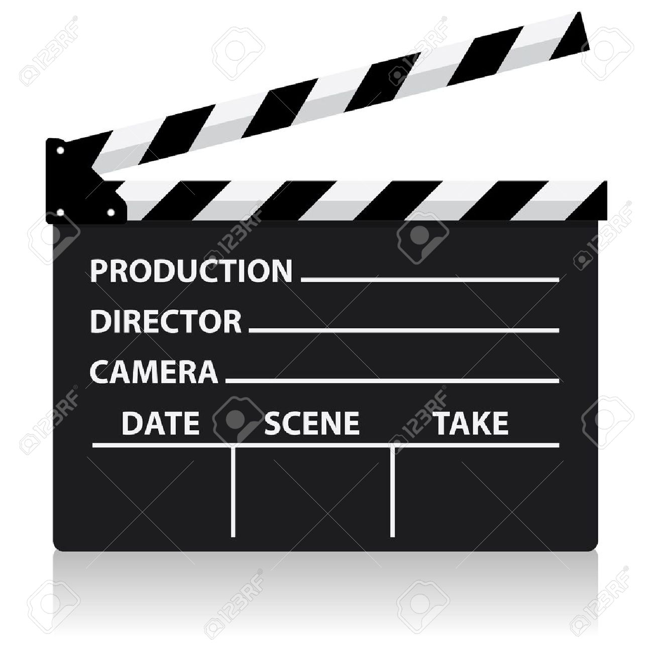 1300x1300 Movie Clipart Movie Slate ~ Frames ~ Illustrations ~ Hd Images