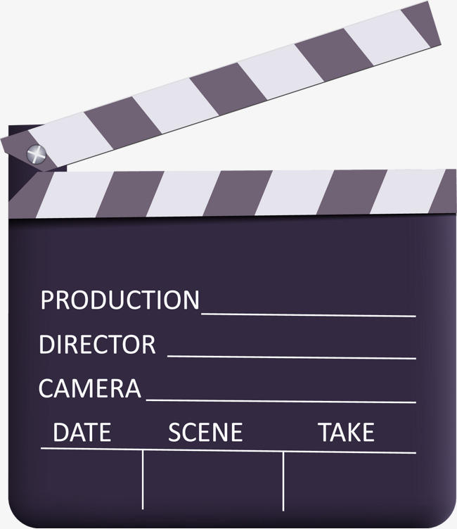 650x752 Vector Slate, Clapperboard, Black, The Film Png And Vector For