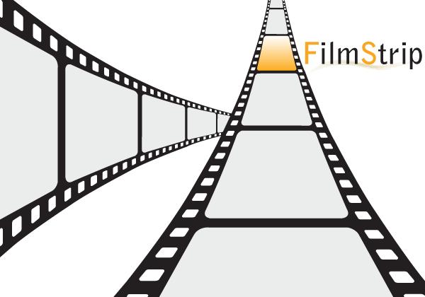 600x420 Film Strip Vector Free 123freevectors