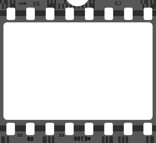 600x550 Film Strip Clip Art Free Vector In Open Office Drawing Svg ( .svg