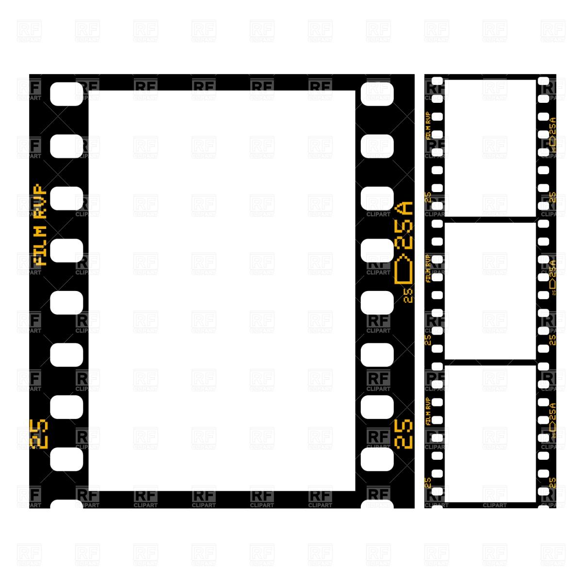 1200x1200 Film Strip Vector Image Vector Artwork Of Objects Prague
