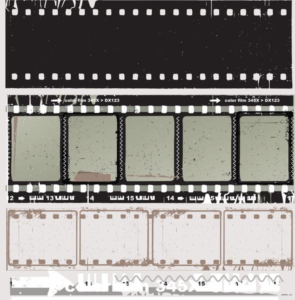 590x600 Film Strip Vector Free Vector In Encapsulated Postscript Eps