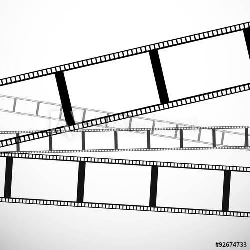 500x500 Film Strip Vector Graphics For Photography Concepts