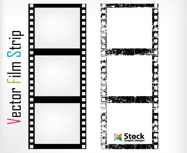 600x490 Free Film Strip Vector Art 123freevectors