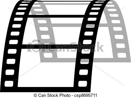 450x338 Vector 3d Film Strip.