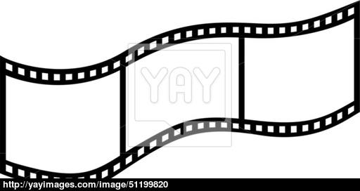 512x272 Vector Film Strip Vector