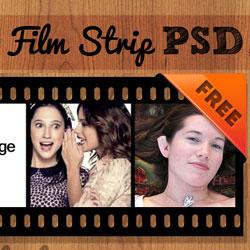 250x250 Film Strip Vector Psd Free Template Psddude
