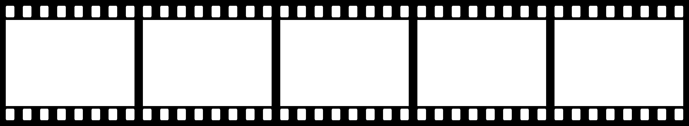2628x480 Filmstrip Transparent Png Pictures