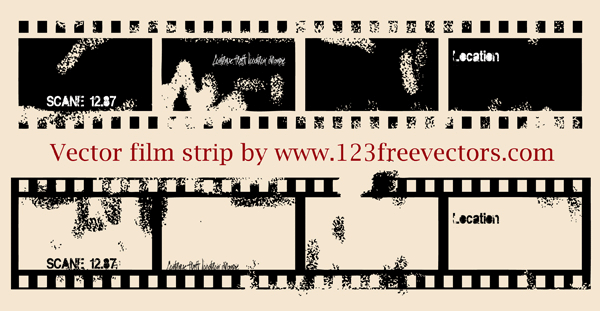 600x311 Free Vector Film Strip Illustration Psd Files, Vectors Amp Graphics
