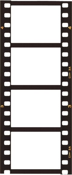 236x570 Film Strip Picture Borders Free Templates Downloadable