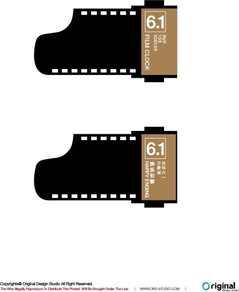 488x596 Film Vector Free Vector In Adobe Illustrator Ai ( .ai ) Vector